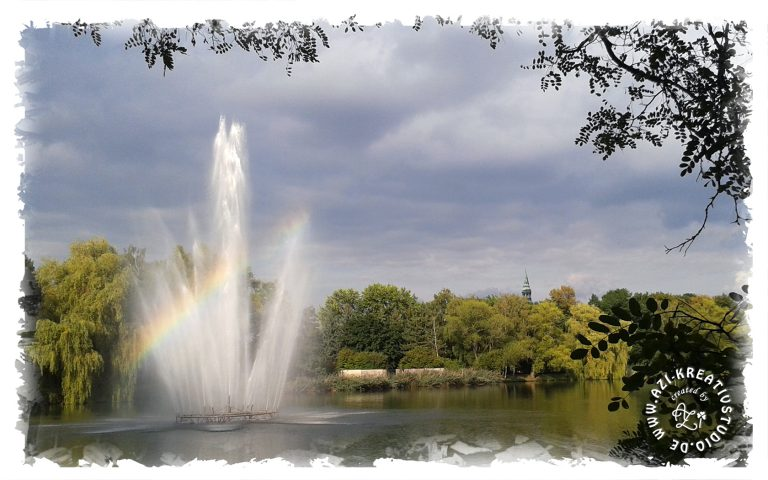 Ein Regenbogen ohne Regen