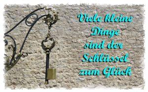 Read more about the article Der Schlüssel zum Glück