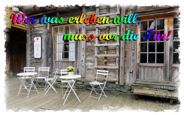 Read more about the article Geh doch mal raus!