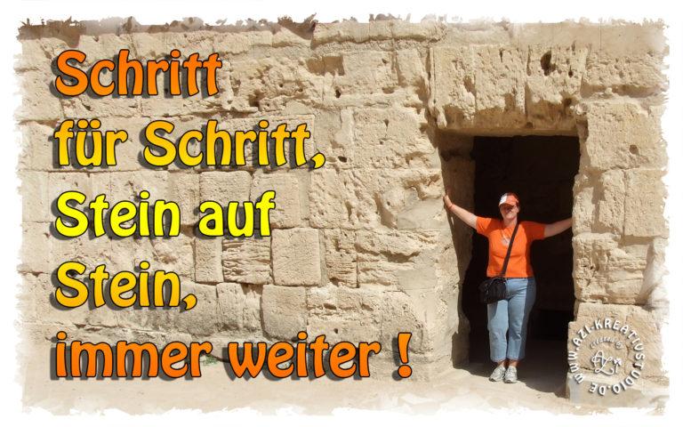 Read more about the article Schritt für Schritt