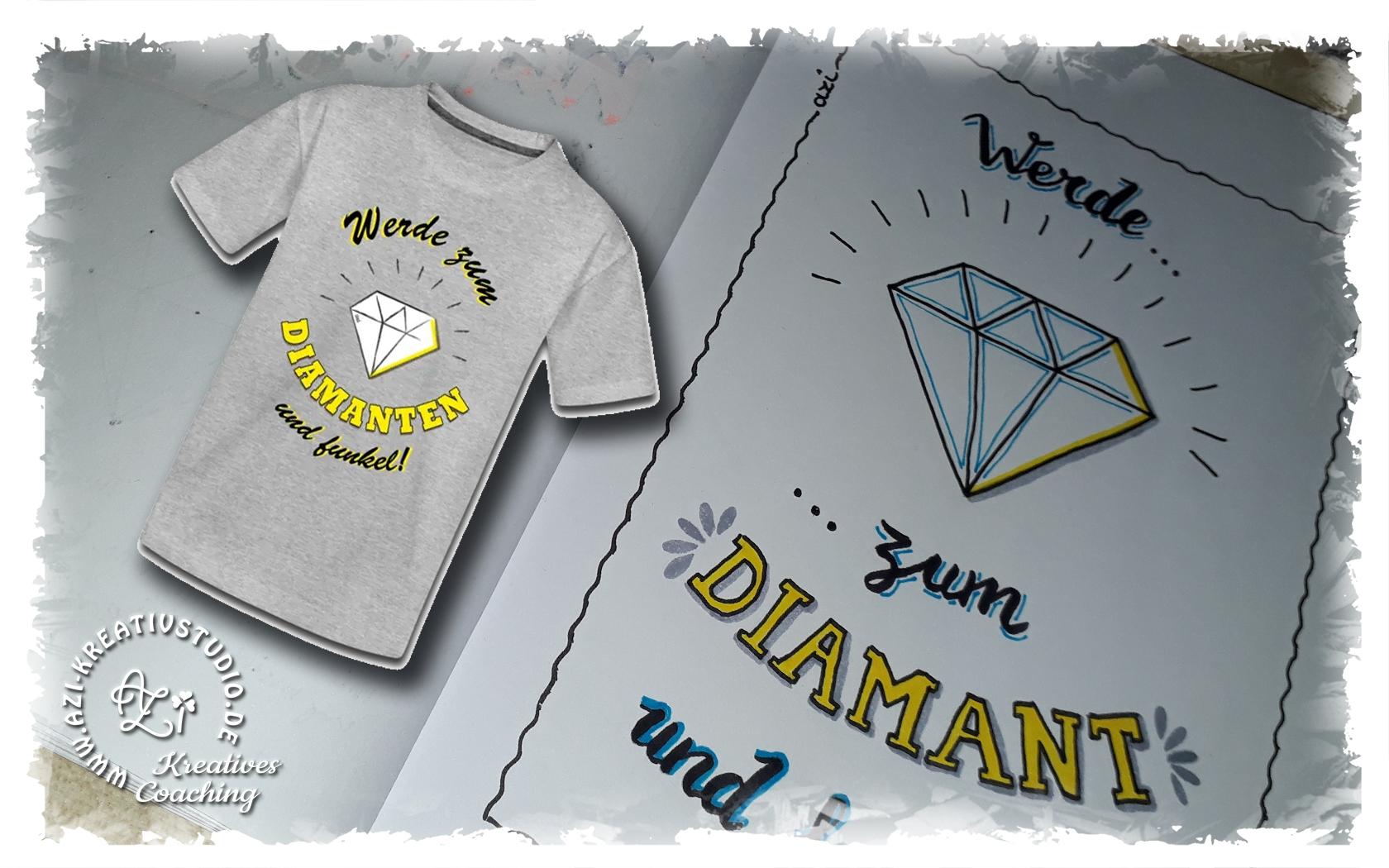 Werde zum Diamanten