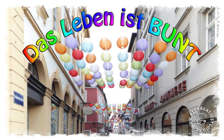 Read more about the article Das Leben ist bunt