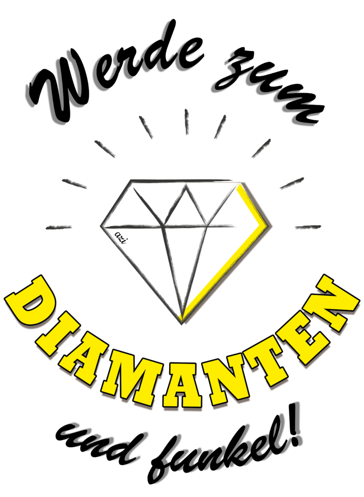 Diamant_grau-gelb