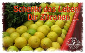 Schenkt Dir das Leben Zitronen