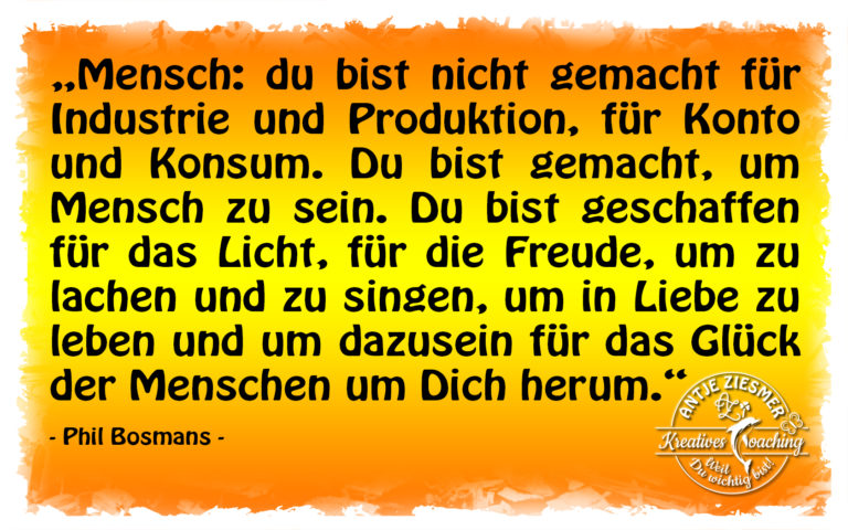 Read more about the article Mensch sein